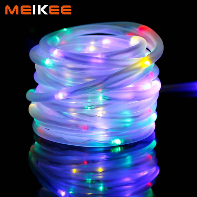 100leds LED String Lights Waterproof LED Christmas Lights Battery Powered Indoor Decoration Rope Light for Wedding Party Holiday