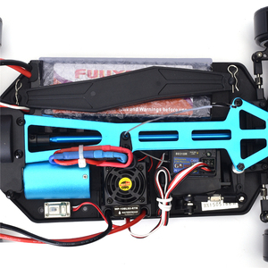 Image 5 - HSP Rc Car 1:10 4wd On Road Rc Drift Car 94123PRO FlyingFish Electric Power Brushless Lipo High Speed Hobby Remote Control Car