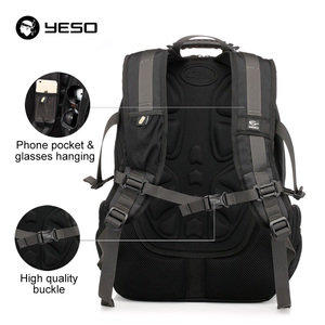 Image 4 - YESO Large Capacity Laptop Backpack Men Multifunction Waterproof 15.6inch Backpack For Teenagers Business Casual Travel Backpack