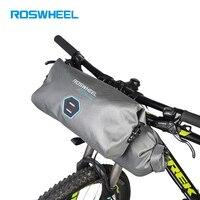 ROSWHEEL 2pcs/set 12L Full Waterproof 840D TPU MTB Mountain Road Cycling Bike Bicycle Front Handlebar bags Accessories Parts