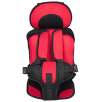 8 Colors Portable Child Car Safety Seats Baby Kids Chairs In Car Babies Updated Version Adjustable