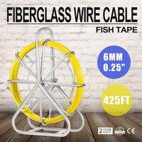 Vis Tape Glasvezel Draad Kabel Running Staaf Duct Rodder Fishtape Puller/6mm
