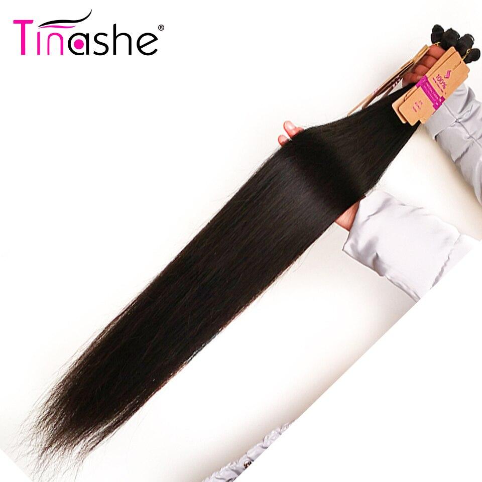 Tinashe Cheveux 30 Pouce 32 34 36 38 Pouce 40 Pouce Armure paquets de Cheveux Brésiliens Droite Remy de Cheveux Humains 1 Bundle Offre Naturel Couleur