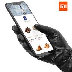 Original Xiaomi Mijia Youpin Men /women Lambskin Touch Screen Gloves from Spanish Raw Materials For xiaomi smart home kits