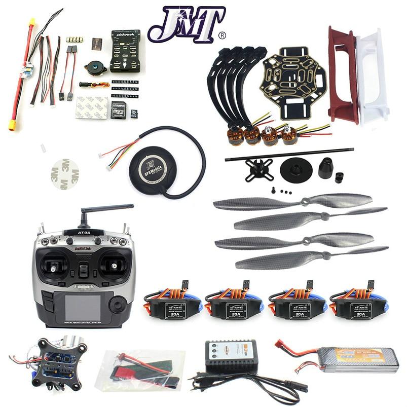 JMT Most Popular DIY Hexacopter 4-axle Aircraft Kit HJ 450 Frame PXI Flight Control 920KV Motor GPS 1045 Propes naza m v2 flight control