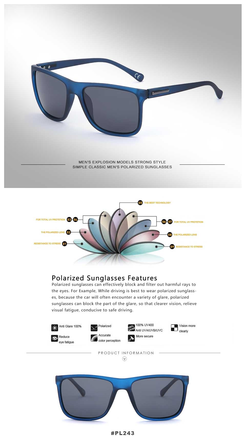 Men sunglasses Last UV400 1