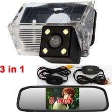 Вид сзади автомобиля Обратный Беспроводной Камера мониторы для Toyota Corolla EX E120 E130 2000 2001 2002 2003 2004 2005 2006 2007 2008 2009
