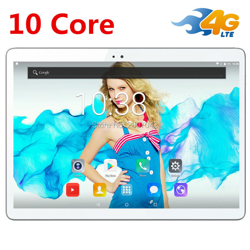 free shipping Android 7 0 10 Tablet PC T100 Deca Core 10 4GB 32GB ROM 1920