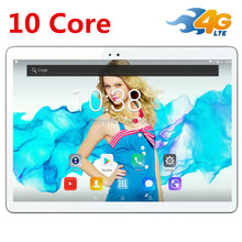 "free shipping Android 7.0 10 Tablet PC T100 Deca Core 10"" 4GB+32GB ROM 1920*1200 IPS Screen 8.0Mp Camera"
