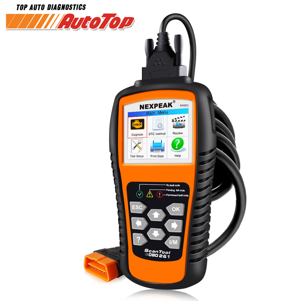 OBD2 Autoscanner NX501 Auto ODB 2 Scanner Car Diagnostic Tool Engine Fault Code Reader for All Cars Better KW850 OBD ELM327 V1.5 original car diagnostic scanner ancel ad510 obdii obd auto diagnostictool engine fault code reader update free better than ms509