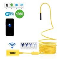 WiFi Endoscope Wireless Borescope Waterproof 2 0 Megapixels HD Camera 2M 5M 7M 10M Yellow Snake