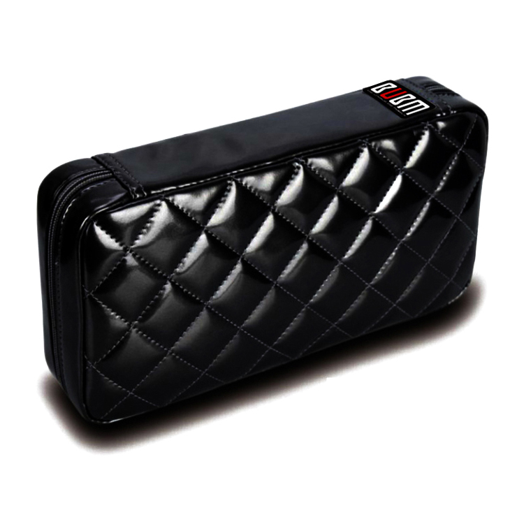 Bubm 64pcs Disc CD DVD Bluray Storage Holder Sleeves CASE waterproof PU Leather