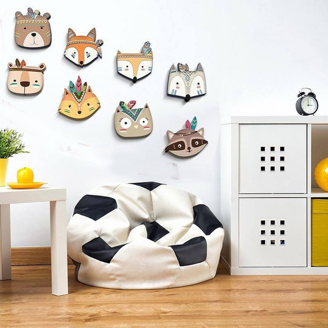 Forest Animals Wooden Decor for Kids Room