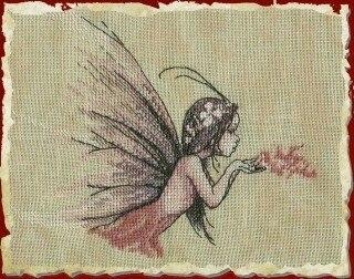 CS-1396 cross stitch kit flower wind fairy nimue nium.jpg