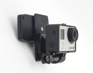 Image 5 - F08051 360 Degree Bag Strap Quick Release Clip Clamp Mount J Hook Version for Gopro Hero3/3+/4/5 Sport Camera