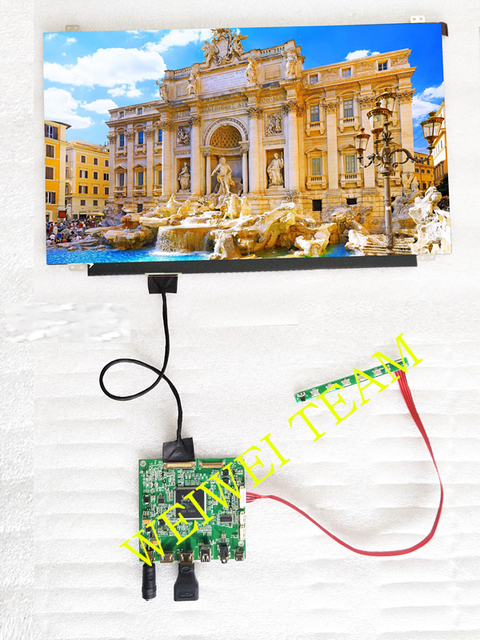 15,6 pulgadas para Raspberry pi 3 2 1 PANTALLA 3840*2160 4 K UHD IPS pantalla HDMI DP conductor placa LCD módulo pantalla Monitor ordenador portátil