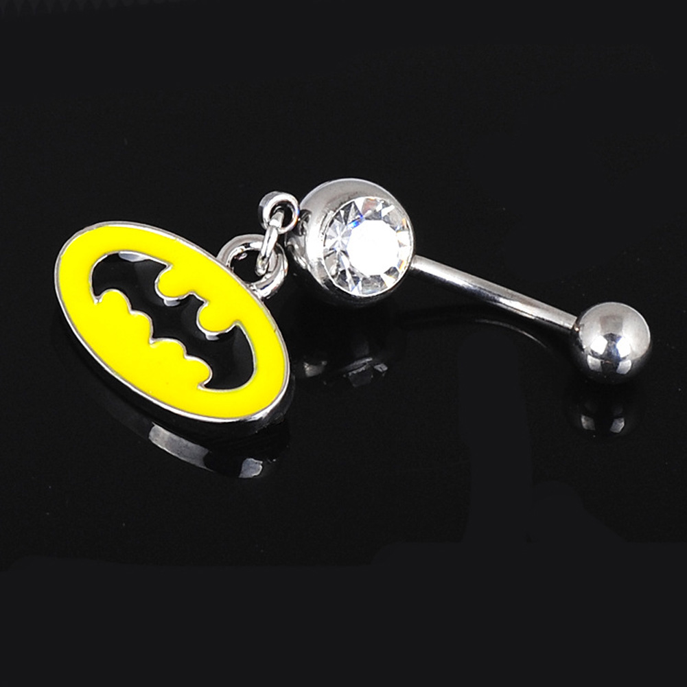 Buy Belly batman button rings photo pictures trends