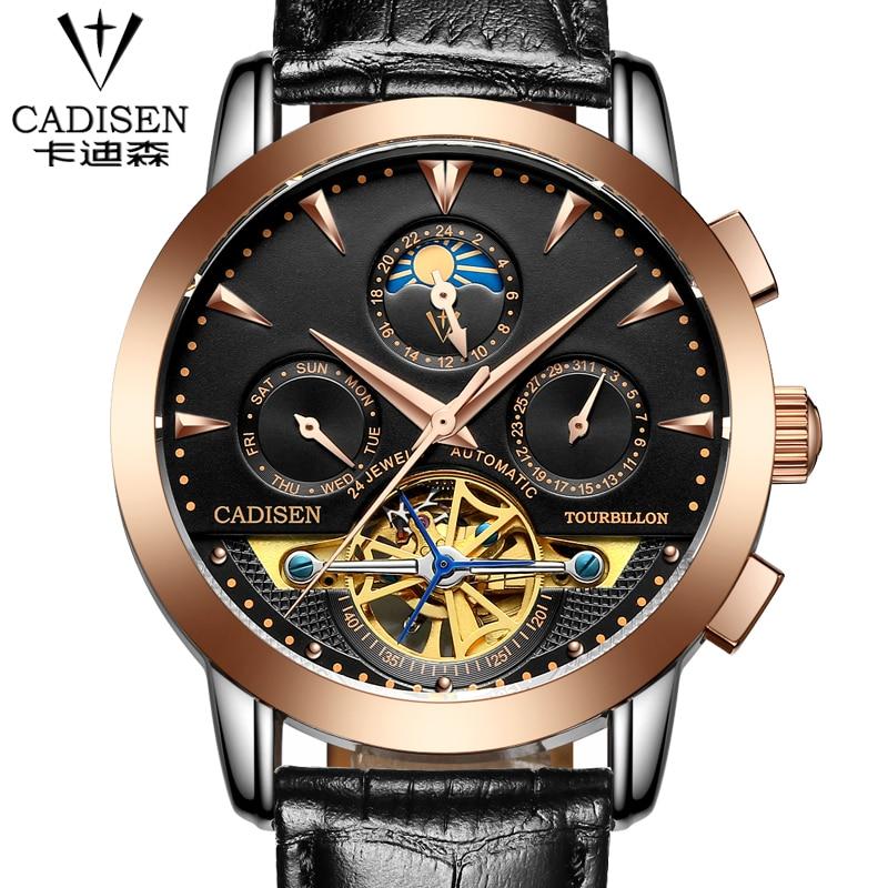 2016 Watches Men Luxury Top Brand tourbillon Mechanical Watch Fashion business sport casual Wristwatch relogio masculino