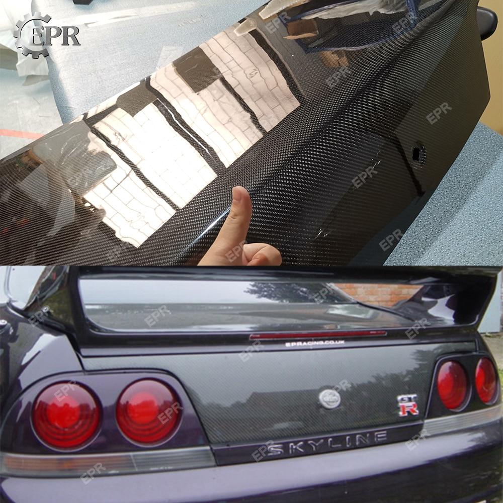 Carbon Trunk For Nissan GTR GTS R33 Skyline Carbon Fiber