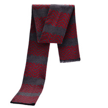 Men Winter Trendy Tartan Scarves Warm Soft Cashmere Scarf Luxury Brand Pattern Echarpes YJWD539
