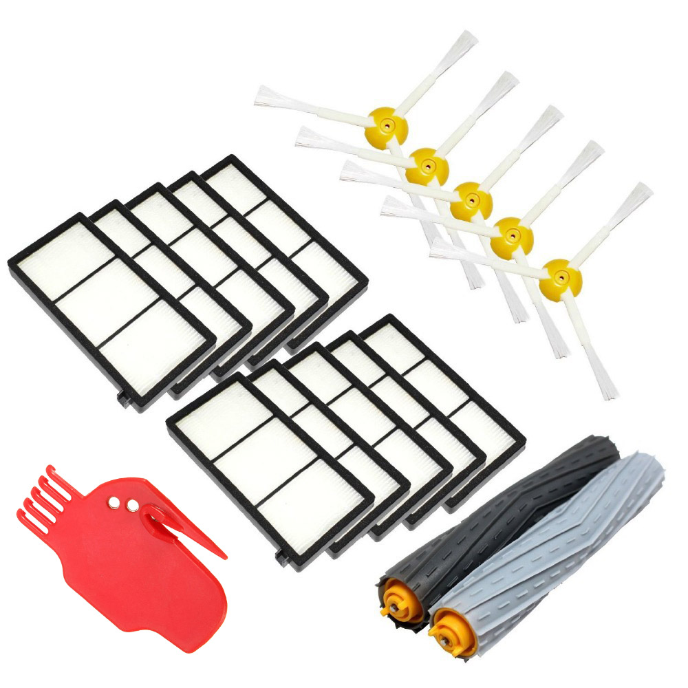 3 Armed Side Brush for iRobot Roomba 800 900 Series 870 880 980 Robotic Vacuum Spare Parts Vacuum Cleaner Accessories 14pcs free post new side brush filter 3 armed kit for irobot roomba vacuum 500 series clean tool flexible bristle beater brush