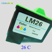 Einkshop For Lexmark26 Compatible Ink Cartridge Lexmark 26 for Z13 Z23 Z35 Z515 Z600 Z615 X1100 X1150 X1270 printer