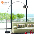 Wholesale Novelty Modern Floor Lamp Brief  Stainless Steel Floor Light Lighting Standing Floor Lamp For Home Living Room Bedroom