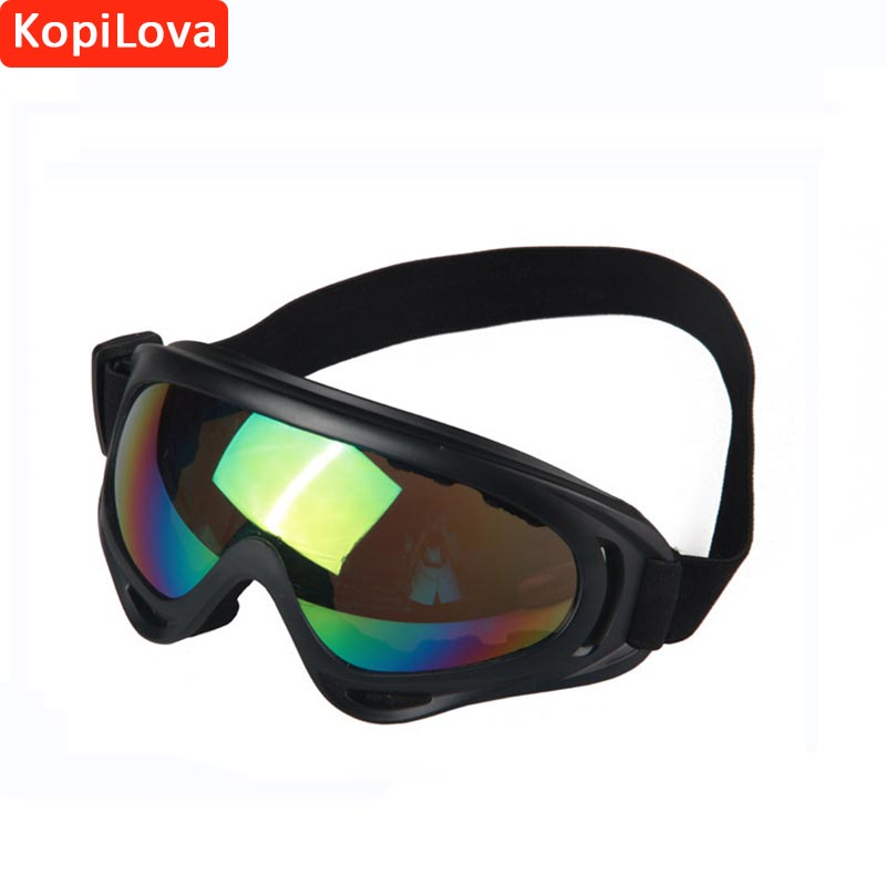 KopiLova 10pcs Adult Ski Goggles Windproof Anti Fog Eye Protection Dustproof Face Mask Glasses for Skiing Wen and Women baseus little devil case for iphone 7 plus black