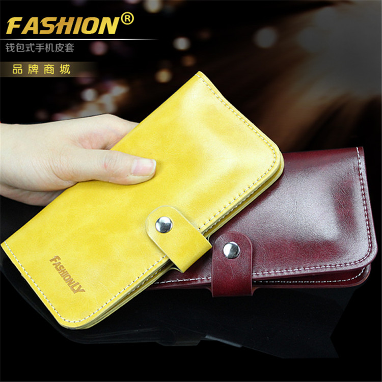 Luxury Business Handbag retro Leather 4.7 inch Wallet Case for iPhone 6 6S 5 SE 5S 4 4S for Samung galaxy A3 A310 S3 S4 S5 mini