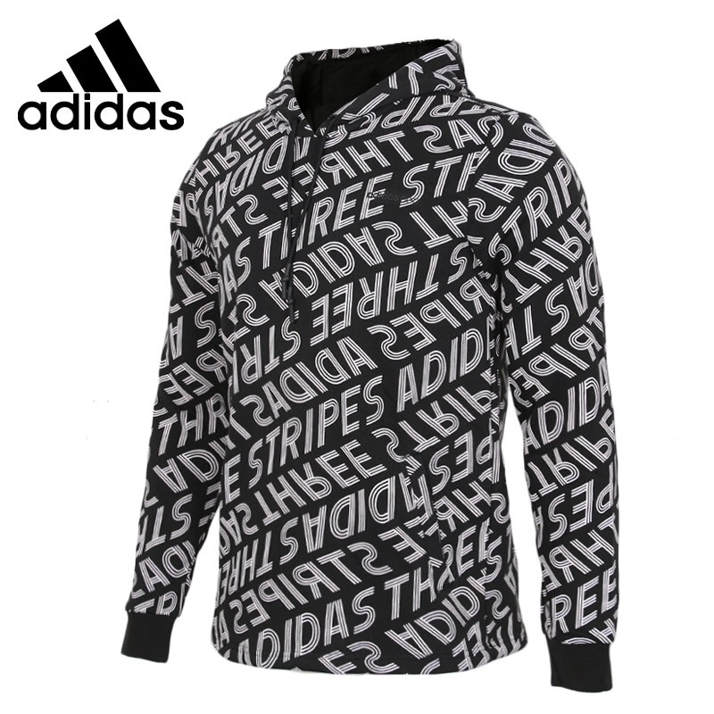 Original New Arrival 2018 Adidas NEO Label FAV SW HD Men's Pullover Hoodies Sportswear