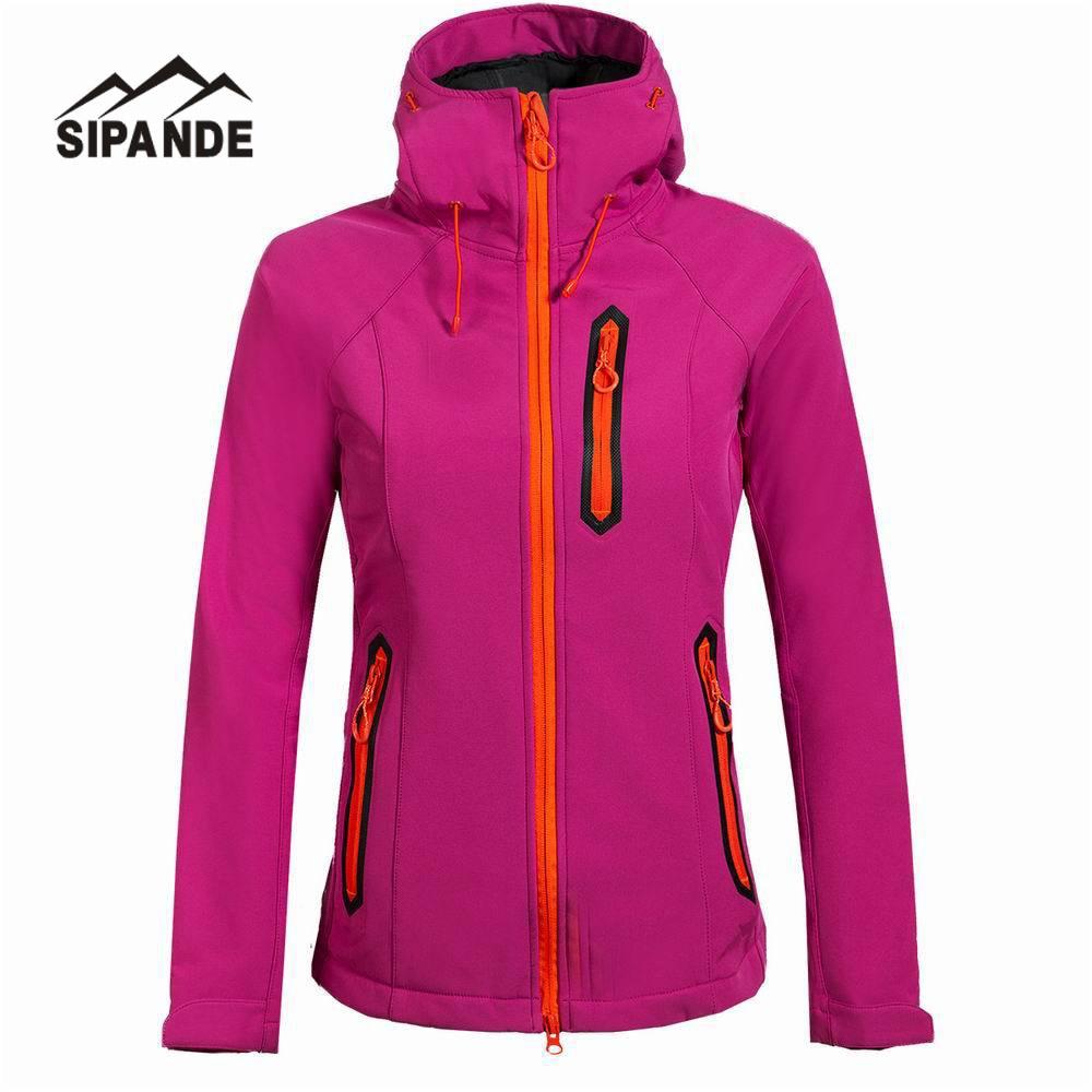 women's Hiking Jackets Softshell Jacket Men Outdoor Autumn Winter Sports Coats Waterproof Windproof Camping Ski Jacket