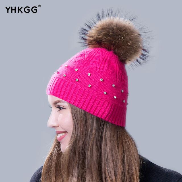 2016 mais recente moda senhoras elegantes parágrafo torção chapéu de malha quente gorros gorros