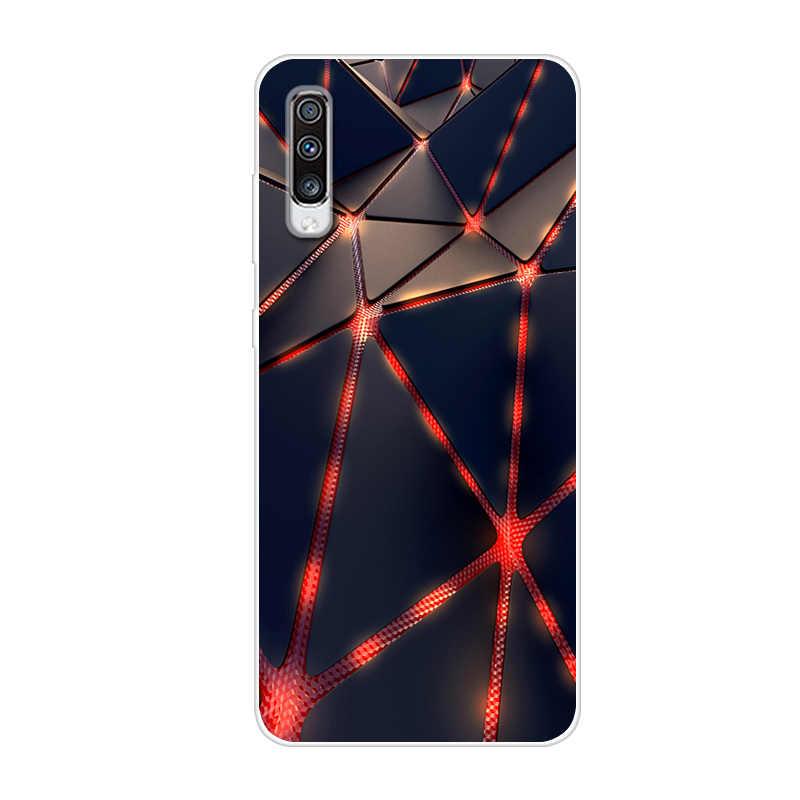 サムスン A70 ケース 2019 新ファッションソフト TPU 電話バックカバー三星銀河 A70 シリコーンケース Coque キャパを 70 A705 A705F