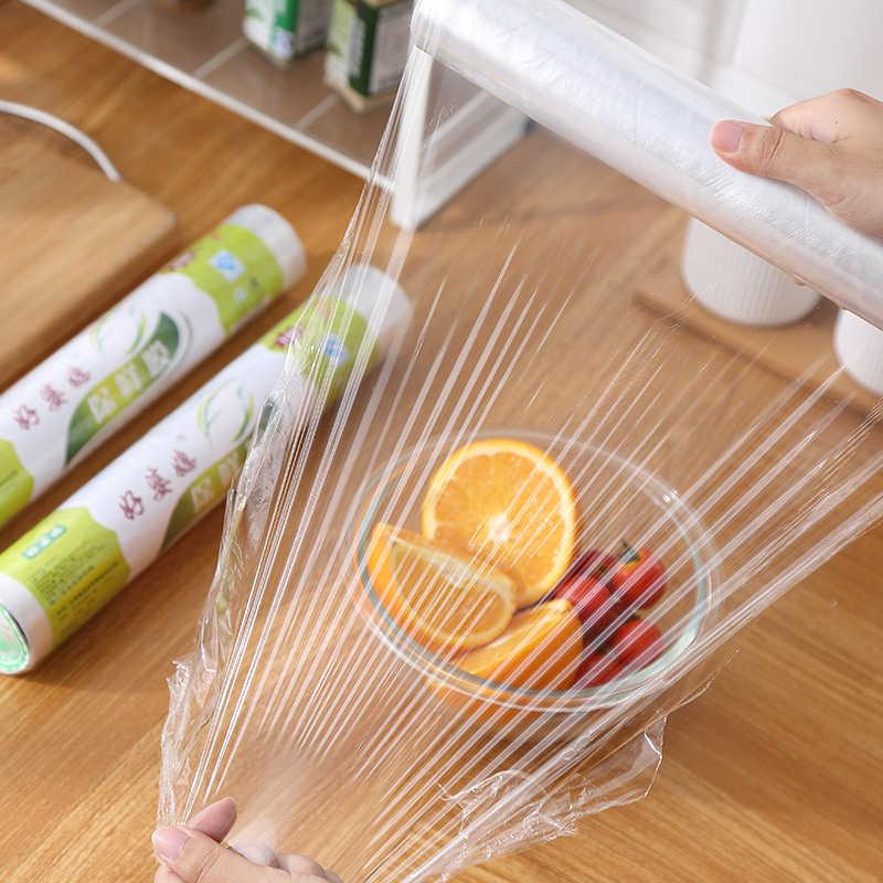 1PCS 30cmX20m Preservative film Plastic wrap Food wrapper Fresh keeping film