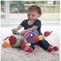 Macio Elefante de Brinquedo Carrinho De Bebê Torno Brinquedo Educacional Para A Criança 0-12 Meses Do Bebê Chocalho Macio Elefante Baby Doll carrinho de criança