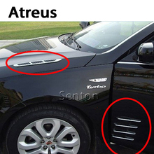 Atreo Car-styling ABS Cromo Styling Pegatinas Para BMW e46 e39 e60 e90 e36 Mini cooper Audi a4 b6 b7 b8 a3 a6 c5 Accesorios