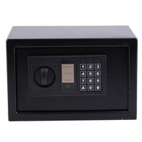 8.5L Professional Digital Electronic Security Box Home Office Wall Type Jewelry Money Coded Lock Safe Box Antique Anti Theft Box