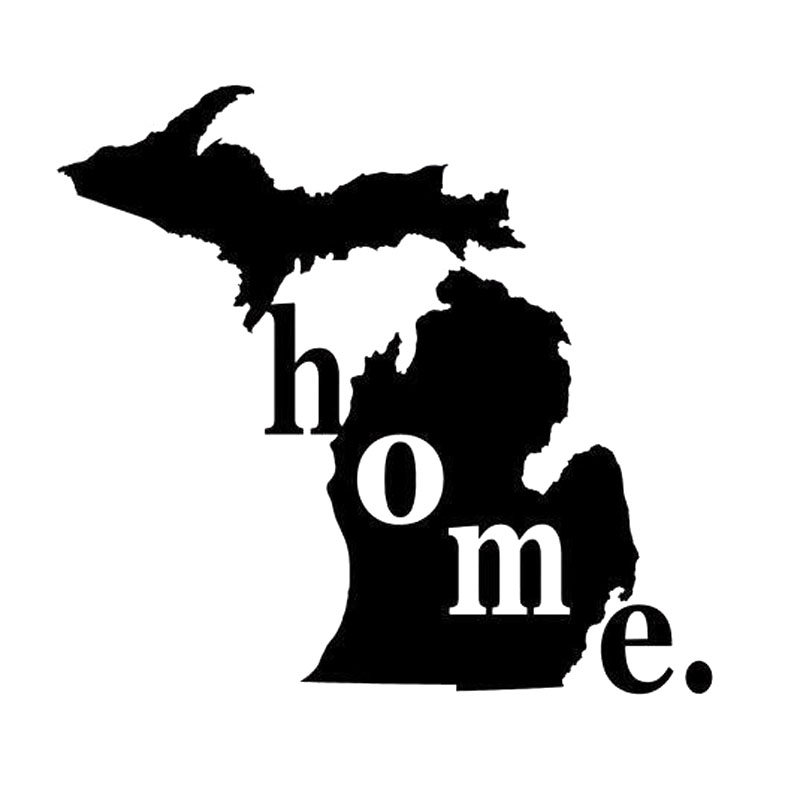 Buy michigan decals and get free shipping on aliexpress com