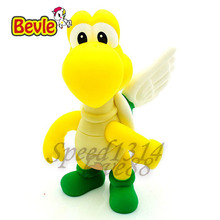 Bevle Super Mario 13cm Fashion Puppets Model Mario Bros Flying Turtle PVC Action Figure Model Kit Toy Doll Decoration