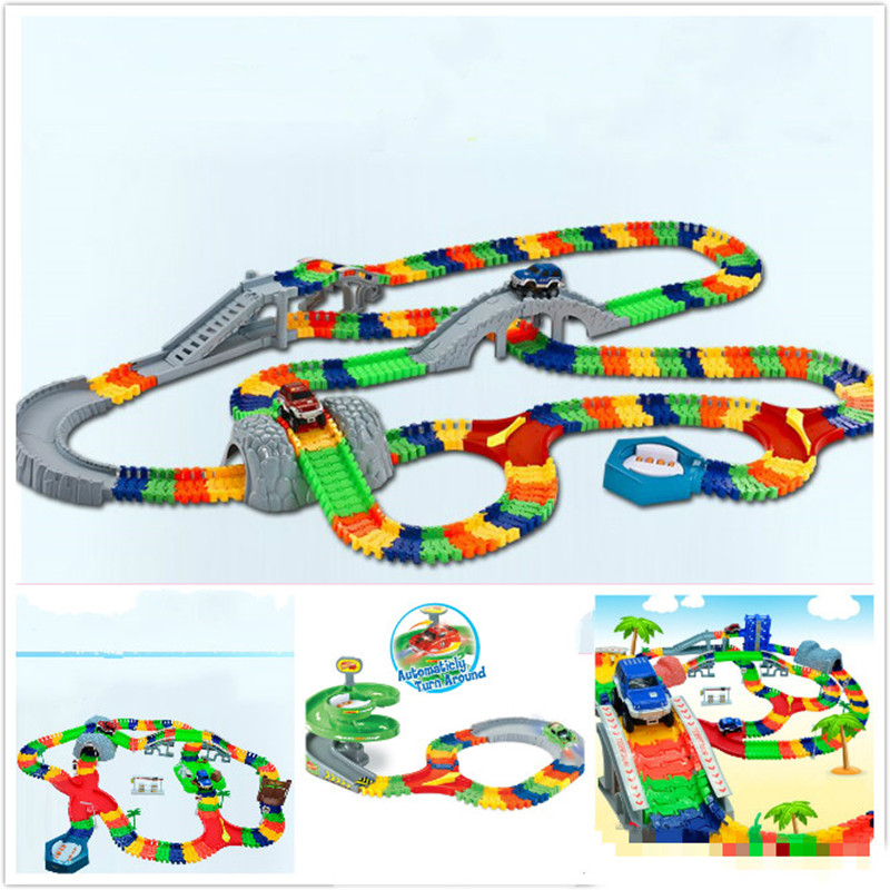 5.5cm DIY Universal Accessories for Glow in the Dark Magic Track Educational Rail Car Toy Racing Tracks Car Kids For Toys Gifts