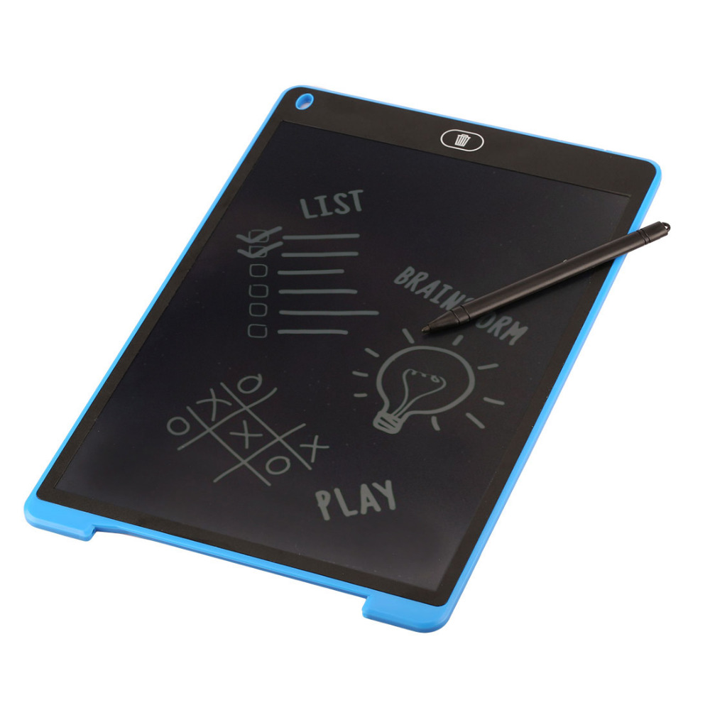 Etmakit Writing Board 8.5/12 Inch LCD Digital Drawing Handwriting Pads Gift ABS Electronic Tablet Board For Home Office Use a portable electronic tablet board 8 5 inch lcd writing pad tablets digital drawing tablets handwriting pads tablet pc accessor