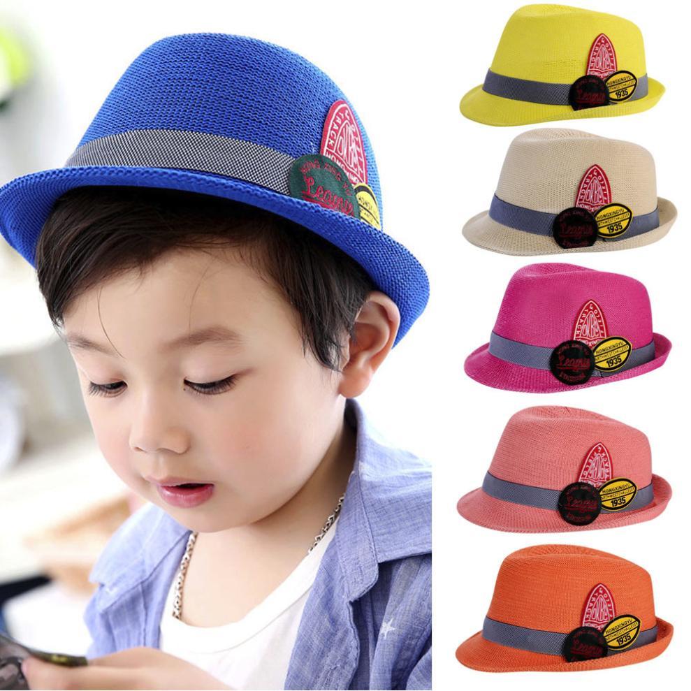 Summer Baby Boy Girls Hat Beach Sun Cap Infant Breathable Hat Show Kids Caps HOT