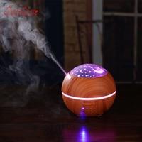 THANKSHARE 150ml Star Style Ultrasonic Humidifier Aromatherapy Oil Diffuser Cool Mist 3D Light Ultra Quiet Aroma