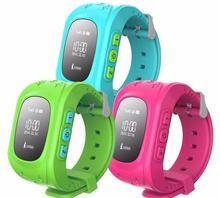 ที่มีคุณภาพสูงเด็กGPS Watchเด็กgps watchติดตามSOSฉุกเฉินป้องกันการสูญหายสมาร์ทโทรศัพท์A Ppสร้อยข้อมือสายรัดข้อมือติดตามจีพีเอส