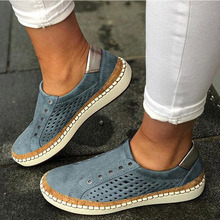 Women Slip On Hollow Out Casual Shoes