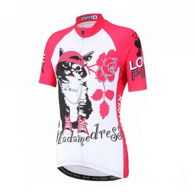 2016 Women Cycling Jersey Ropa Ciclismo Lady Shirt Short Sleeve Cycling  Clothing Quick Dry Bike Jersey 8dc890977
