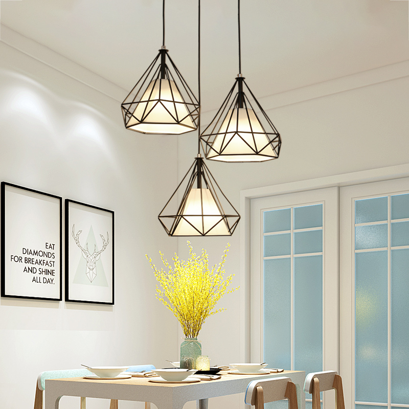 Scandinavian Diamond Pendant Lamps