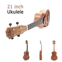 Zebra 21 Mini Sapele Dolphin Pattern Ukulele Rosewood Fingerboard 4 Strings Guitarra Guitar For Musical Instruments Beginner