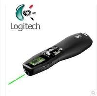 JSHFEI Logitech R800 2.4Ghz Remote Control Page Turning Green Laser Pointers presentation presenter pen