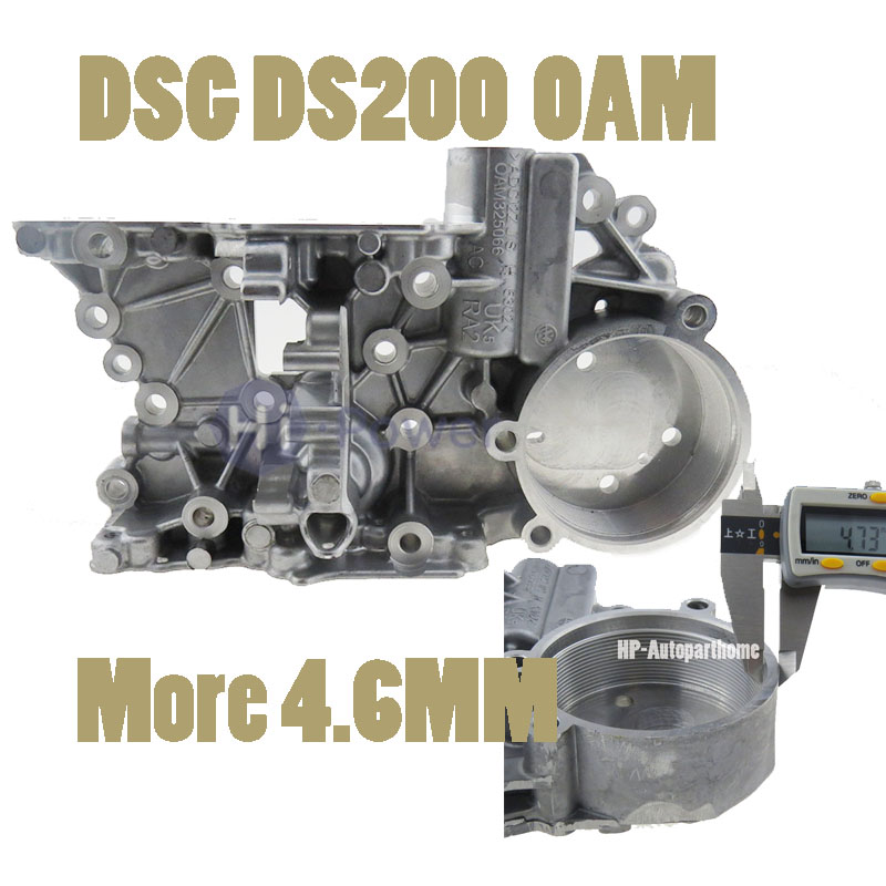 New 4.6MM OAM 0AM DSG For AUDI VW VOLKSWAGEN SKODA SEAT Passat Golf 7-SPEED DQ200 0AM325066AC 0AM325066AE 0AM325066C